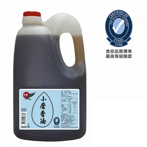 天鷹芝麻香油-小磨(3L)